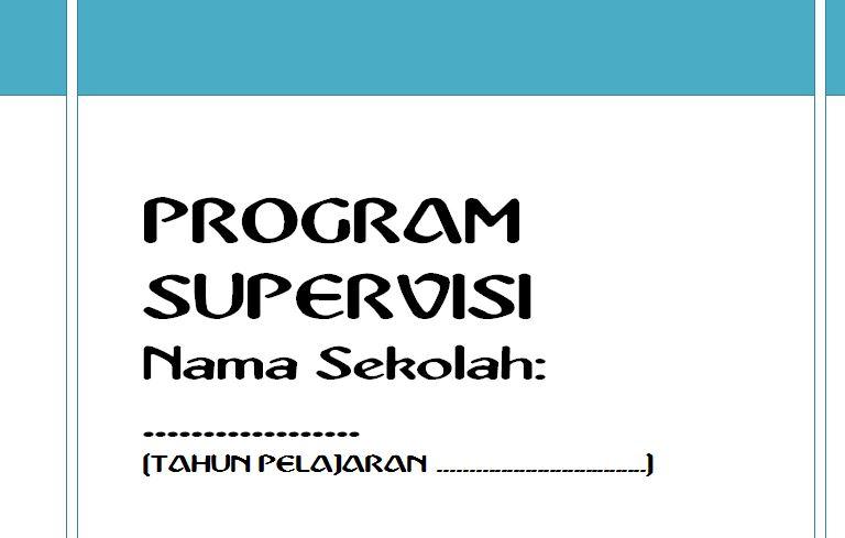 Program Supervisi Sekolah