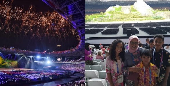 Warga DKI Cari Anies di Opening Ceremony Asian Games: Where Are You, Pak?