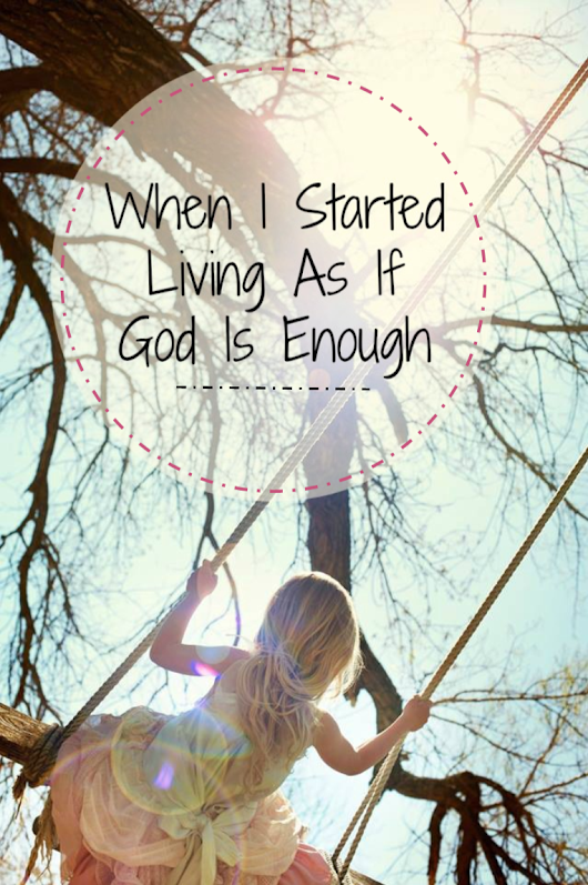 Rhonda Quaney: When I Started Living As If God Is Enough