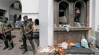 Toque de queda en Sri Lanka por una serie de explosiones que han dejado al menos 400 muertos