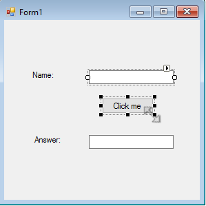 Resizing a button textbox in VB