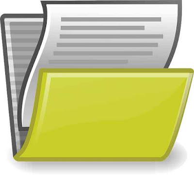 Menyimpan file di flashdisk