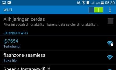 Nama Wi-Fi HP Android