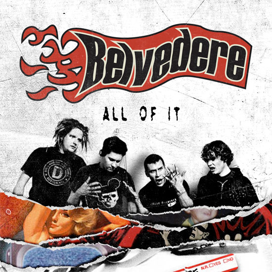 <center>Belvedere release 'All Of It', a compilation album with every song they recorded</center>