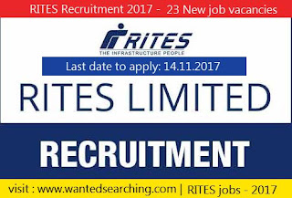 RITES Recruitment 2017