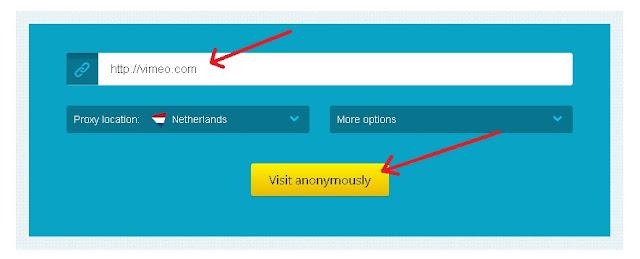 buka situs diblokir dengan Proxysite