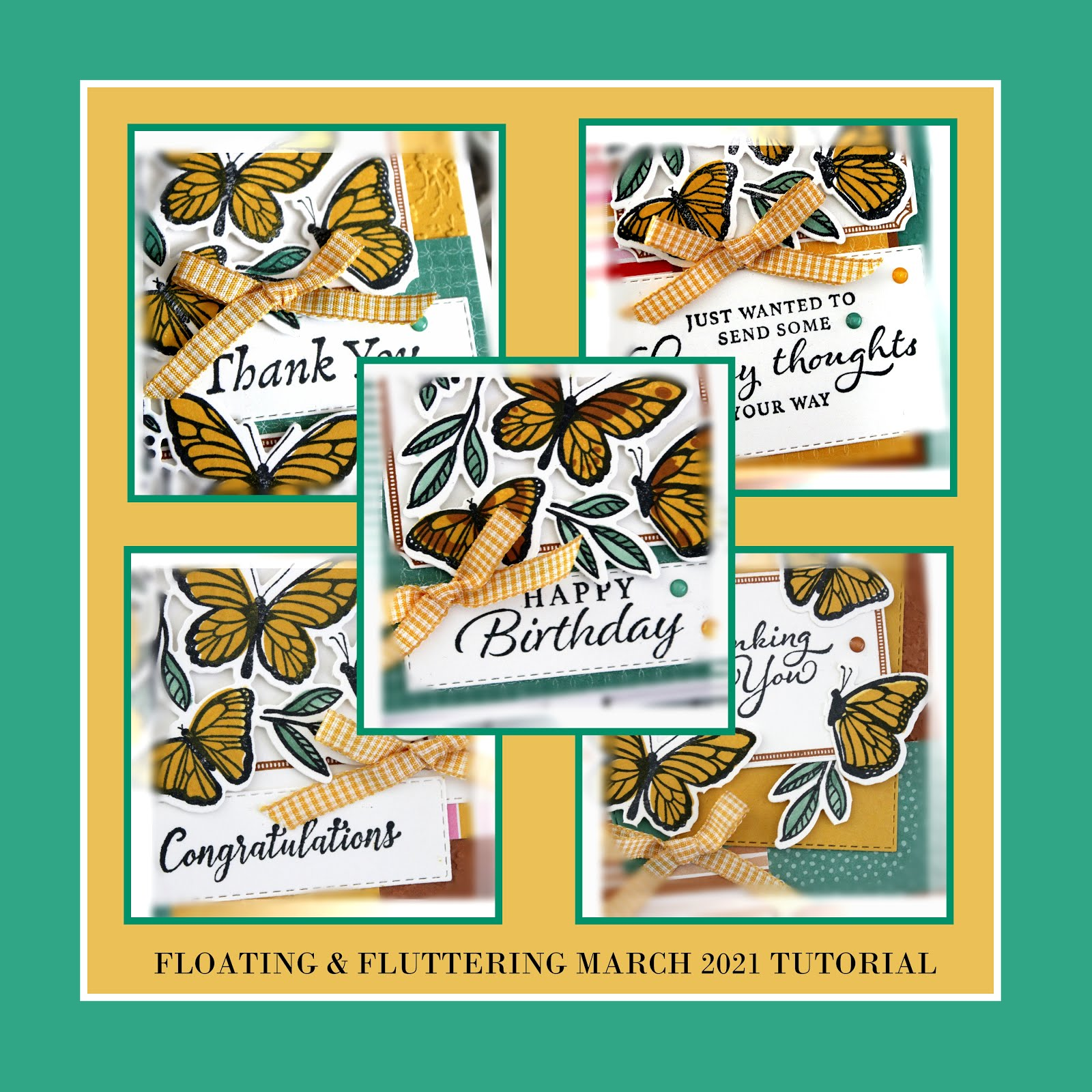 March 2021 Floating & Fluttering Tutorial