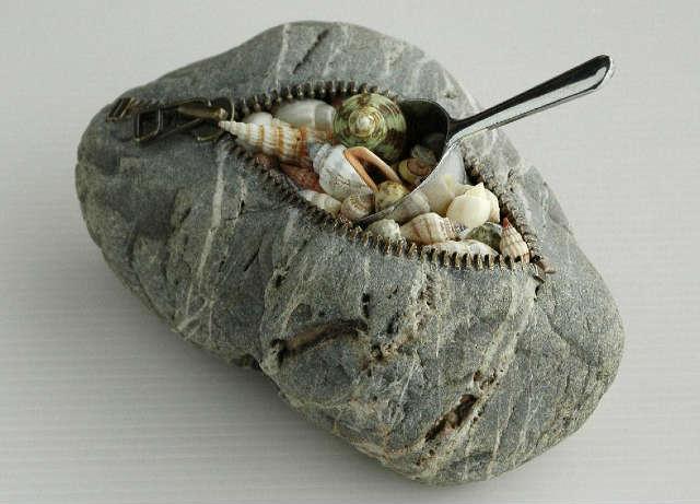 عندما تصبح الصخور لوحة فنية مذهلة