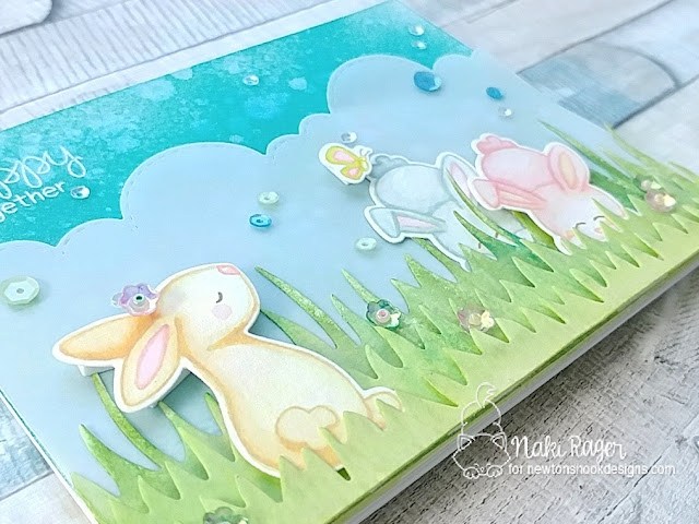 Newton's Nook Designs Bitty Bunnies Set - Naki Rager