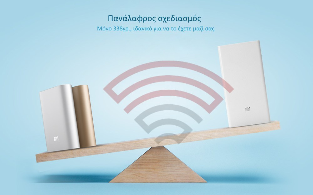 Original XIAOMI 20000mAh Power Bank για Smartphone - Φορητή Μπατ