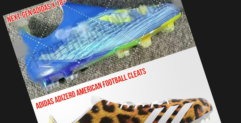 72430048c Are The Leaked Laceless Next-Gen Adidas X 18+ 2018 World Cup Boots American  Football Boots?