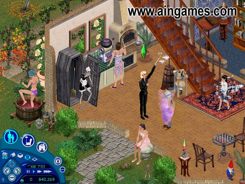 Bennett's blog where to download the sims 1 free full version.