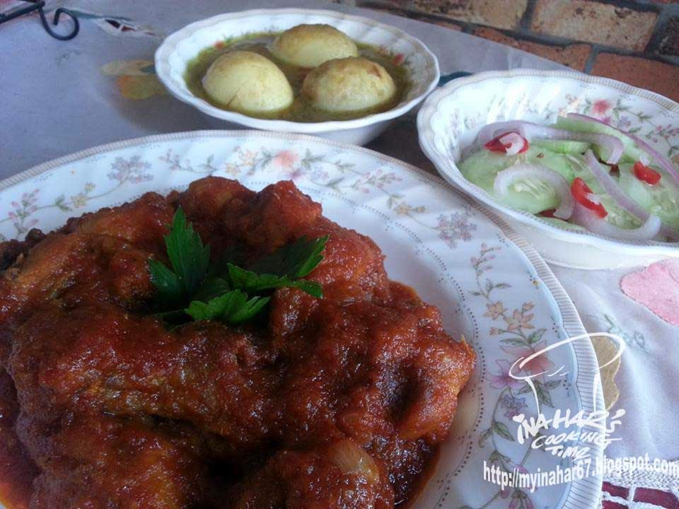 resepi telur ayam masak kurma recipes blog Resepi Nasi Serai Azie Kitchen Enak dan Mudah