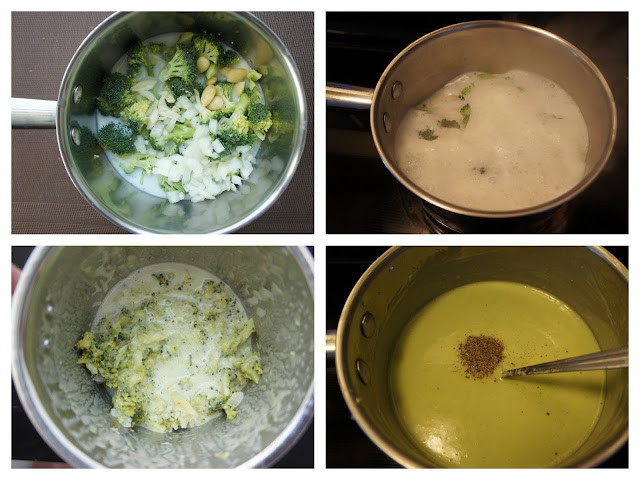 Broccoli Soup : Procedure