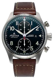 Montre Alpina Startimer Pilot Chronographe Automatique