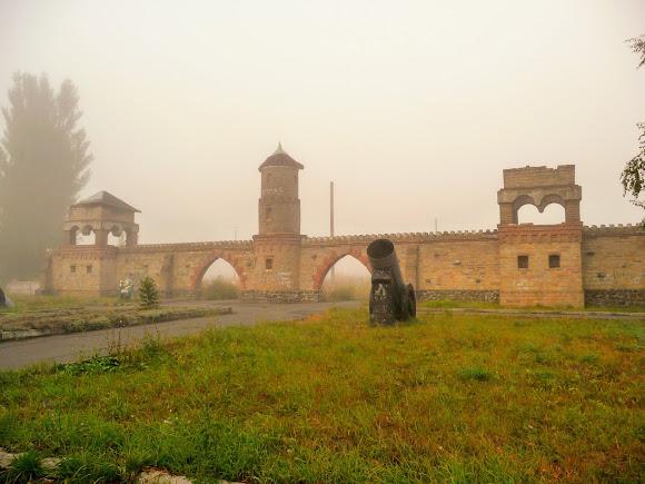 Авдіївка. Дитяче містечко і фортеця на околиці міста