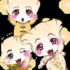 Lovely Rougey Baby Dumplings Girl.