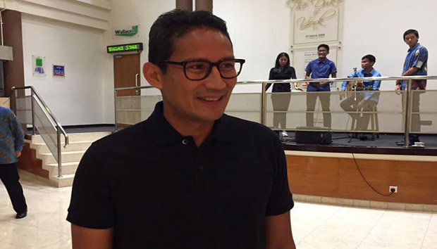 Sandiaga Uno : Terjadinya Asian Games Di Jakarta Bisa Menjadi Kesempatan Untuk Membangun Infrastruktur Jakarta