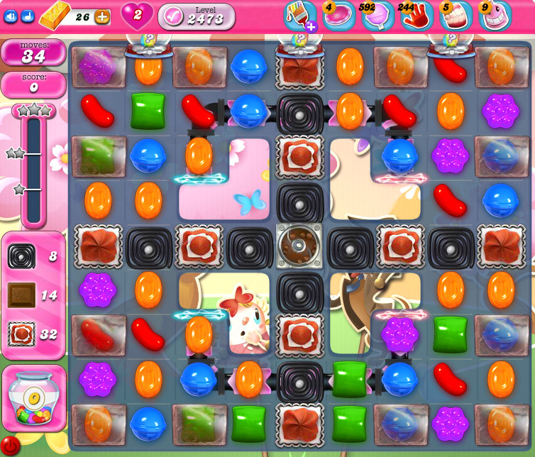 Candy Crush Saga level 2473
