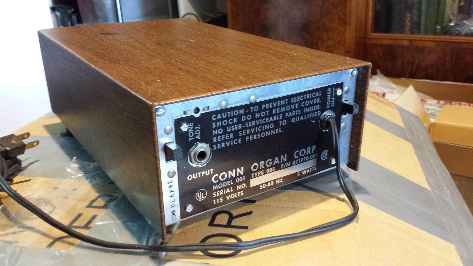 JonDent - Exploring Electronic Music: Conn Min-o-matic Rhythm Drum