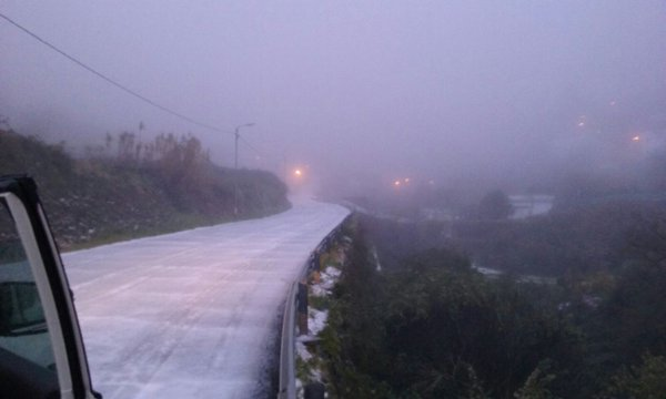 Peligrosas las carreteras cortadas a la cumbre Gran Canaria