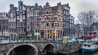 Brouwersgracht, Amsterdam, Holanda