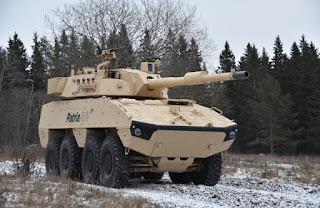 Varian Tank Destroyer dari Patria AMVxp 8x8