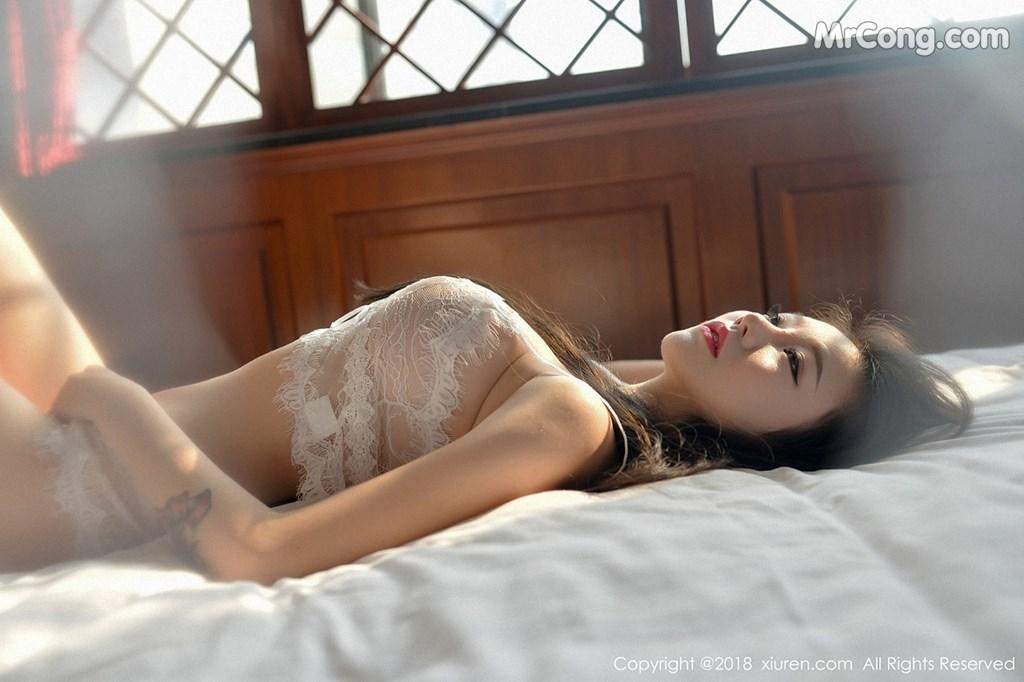 Image XIUREN-No.1111-YUNDUOER-MrCong.com-001 in post XIUREN No.1111: Người mẫu YUNDUOER (41 ảnh)