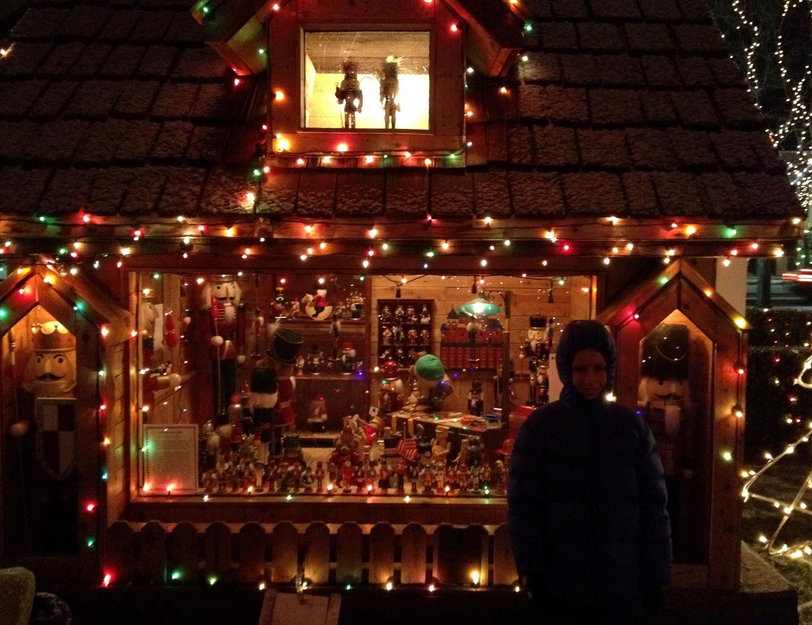 Christmas Village - light-in-leaves