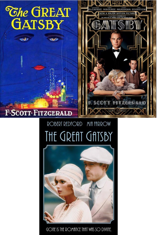 list of differences between the great gatsby movie and book