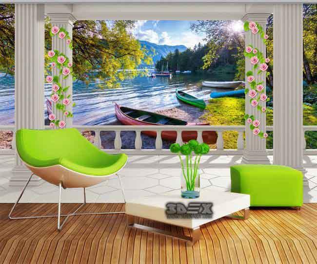 Amazing 3d Wallpaper For Living Room Bedroom Kitchen And Bathroom