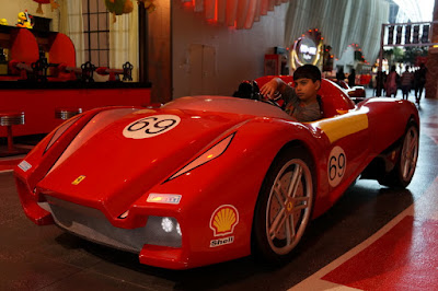Ferrari World: o parque temático da Ferrari em Abu Dhabi