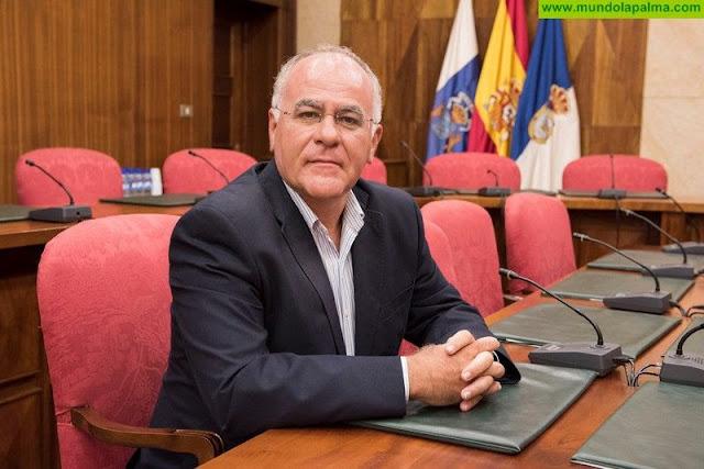 """Cabrera: """"El convenio marco presentado por Perestelo para la reactivación de los pozos es una auténtica burla"""""""
