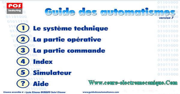 guide des automatismes v7