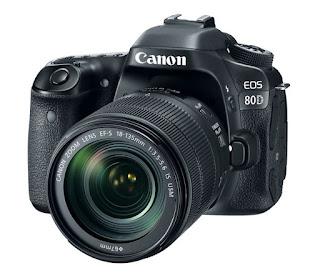 Canon EOS 80D Firmware Update: Version 1.0.3