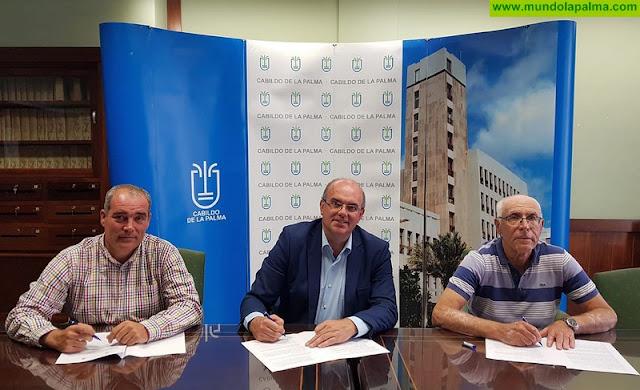 El Cabildo y el Ayuntamiento de Tazacorte cooperan en la regeneración de las piscinas del Puerto