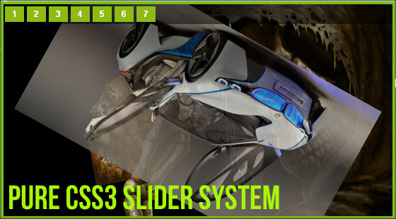 My Css3 Slider System