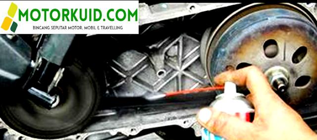 Inilah Cara Simpel Merawat V Belt Motor Matic Agar Awet
