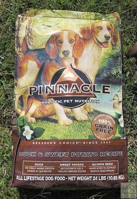 Pinnacle Duck and Sweet Potato grain free dog food