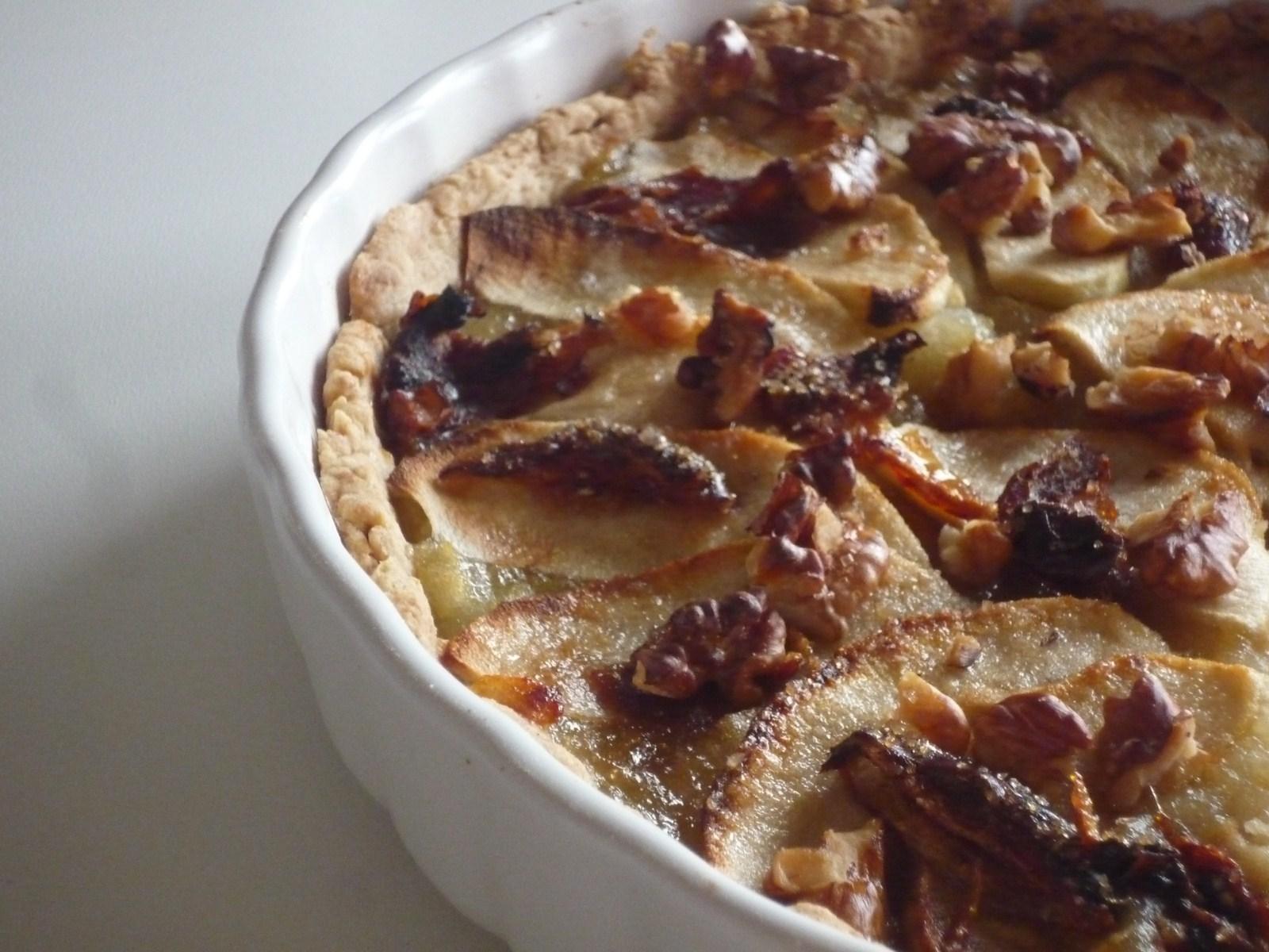 tarte sant 233 pommes dattes et noix jnane sirine