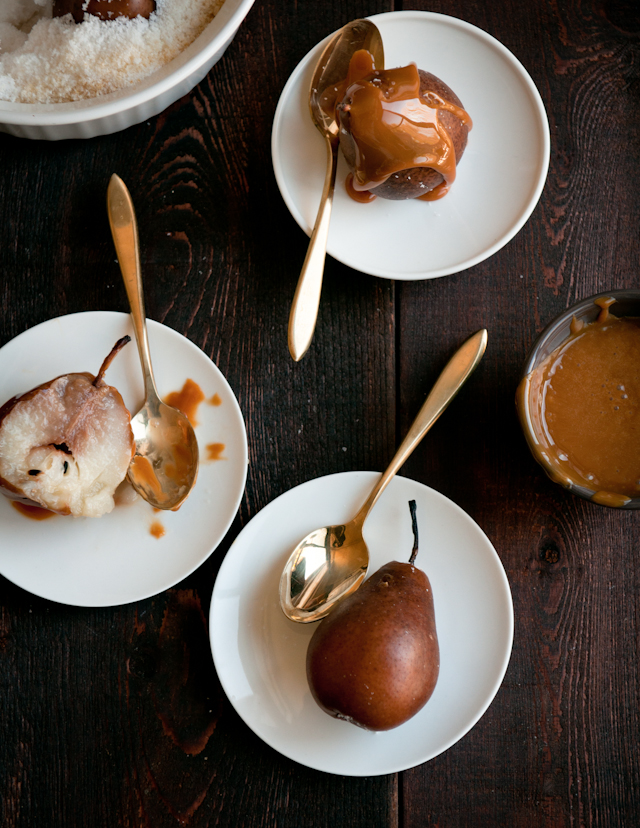 Roasted Pears with Cajeta | Cajeta Recipes