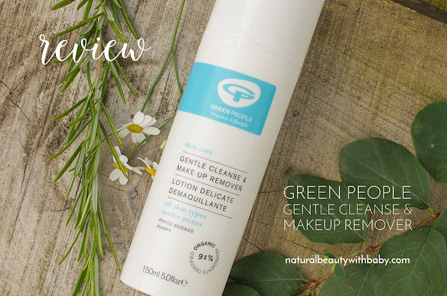Review of Green People Gentle Cleanse and Makeup Remover