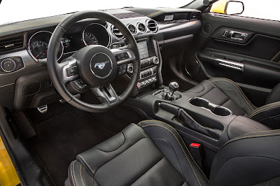 Ford Mustang GT stearing wheel Hd picture