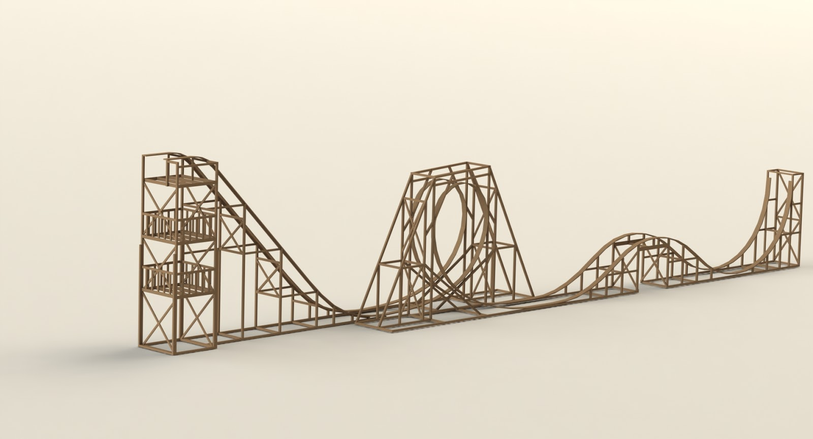 Buildits In Progress Roller Coaster Mechanical Design How To Make Solidworks Really Sad