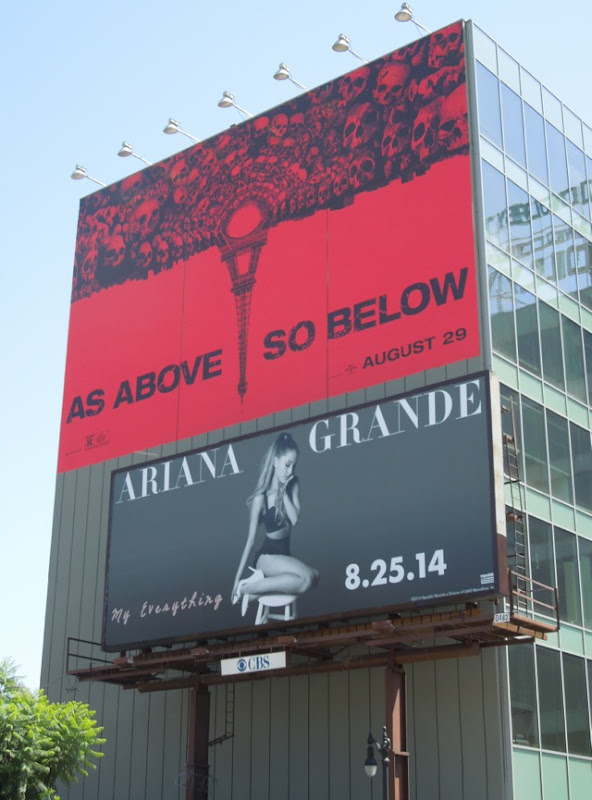 Ariana Grande My Everything album billboard Hollywood