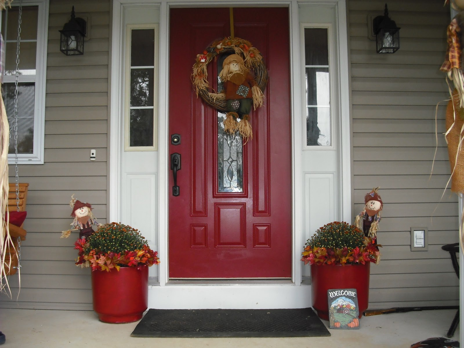 Blessings n Couponing: My BEAUTIFUL Red Front Door!