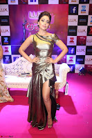 Shreya Saran in Skin Tight Golden Gown ~  Exclusive 015.JPG
