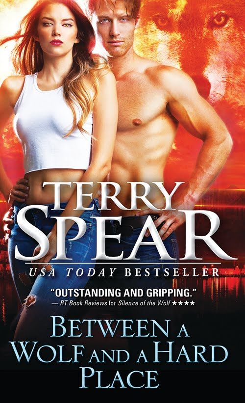 """Between a Wolf and a Hard Place"" by Terry Spear"