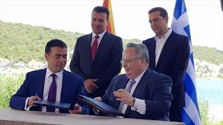 Grecia y Macedonia ponen fin a una disputa de más de tres décadas