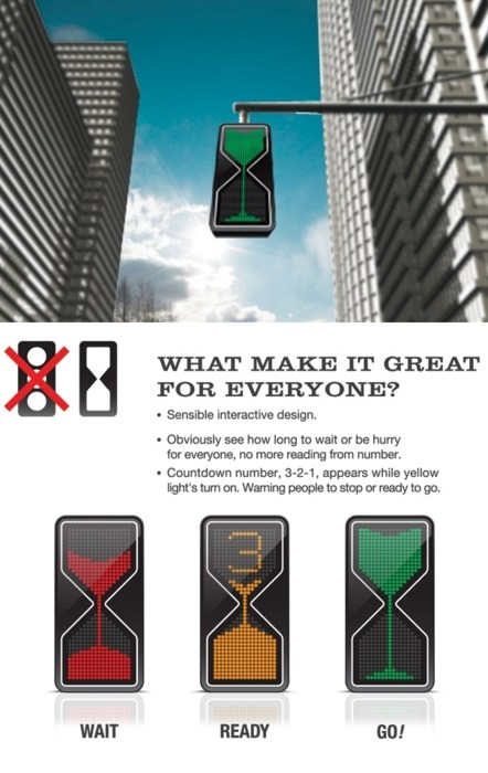 Awesome New Style Traffic Light